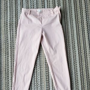 NEW Business casual light pink pants size 4